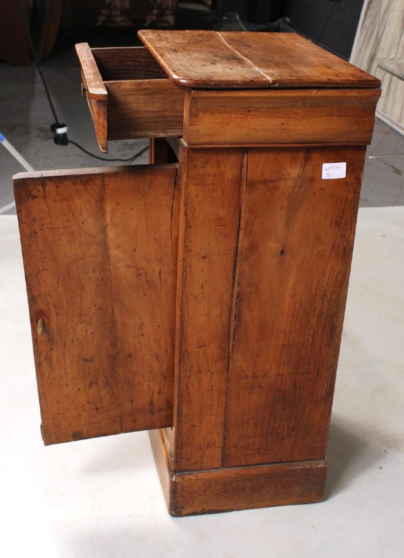 French Provincial Cherrywood One-Drawer Cupboard - 5