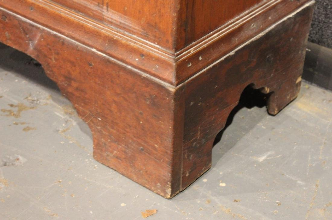 Red-Stained Pine Architectural Cupboard - 3
