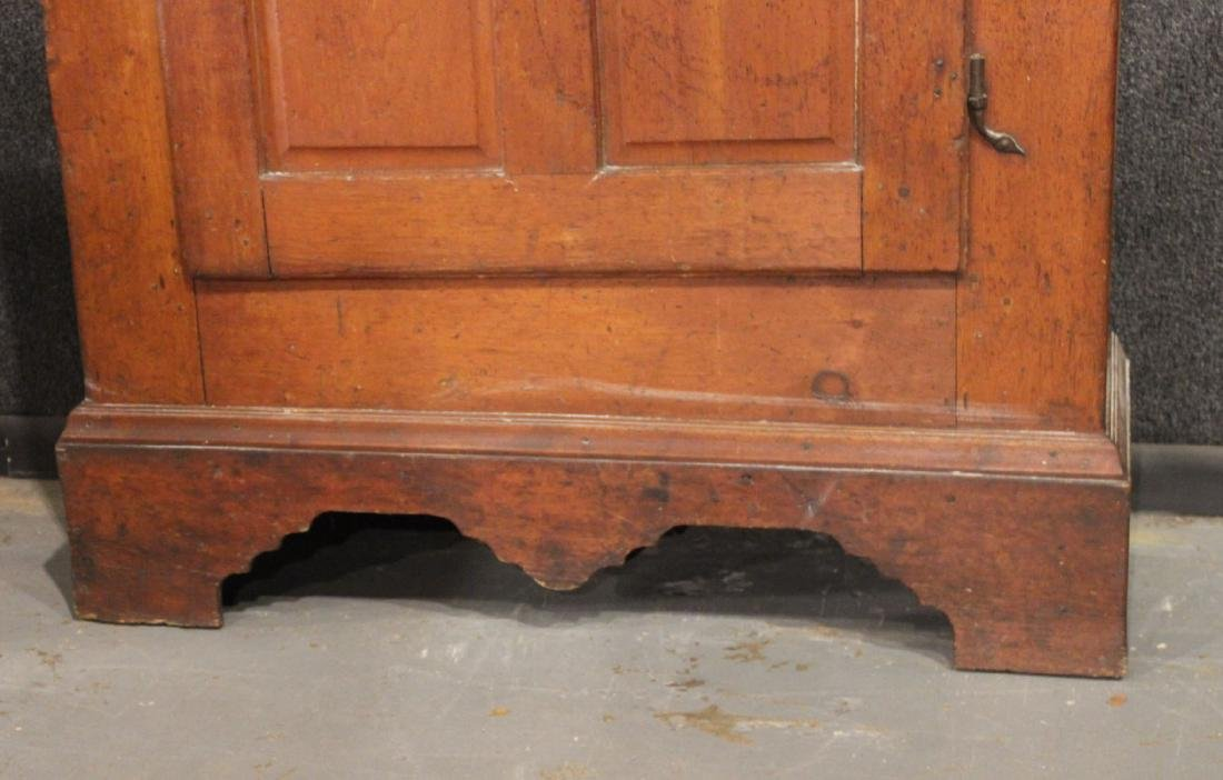 Red-Stained Pine Architectural Cupboard - 9