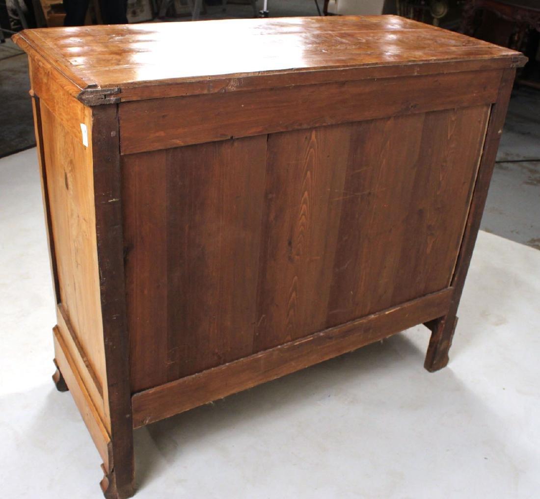 Biedermeier Figured Walnut Chest of Drawers - 9