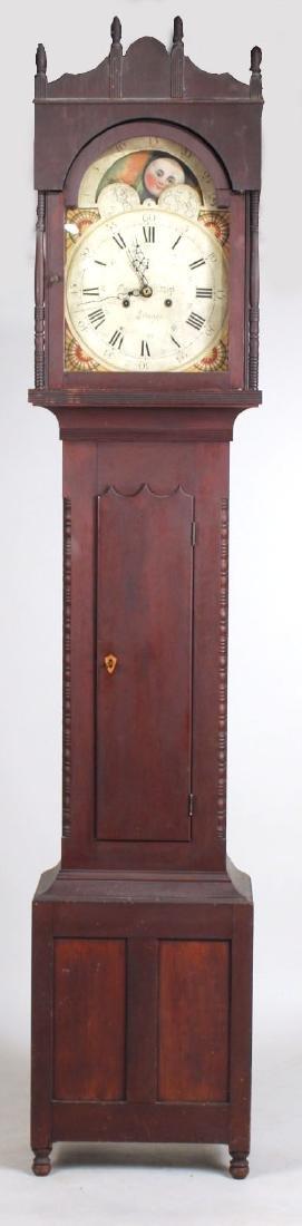 Empire Cherrywood Tall Case Clock