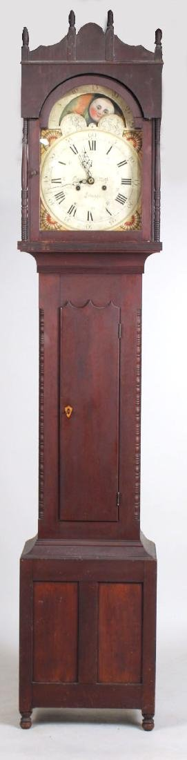 Empire Cherrywood Tall Case Clock