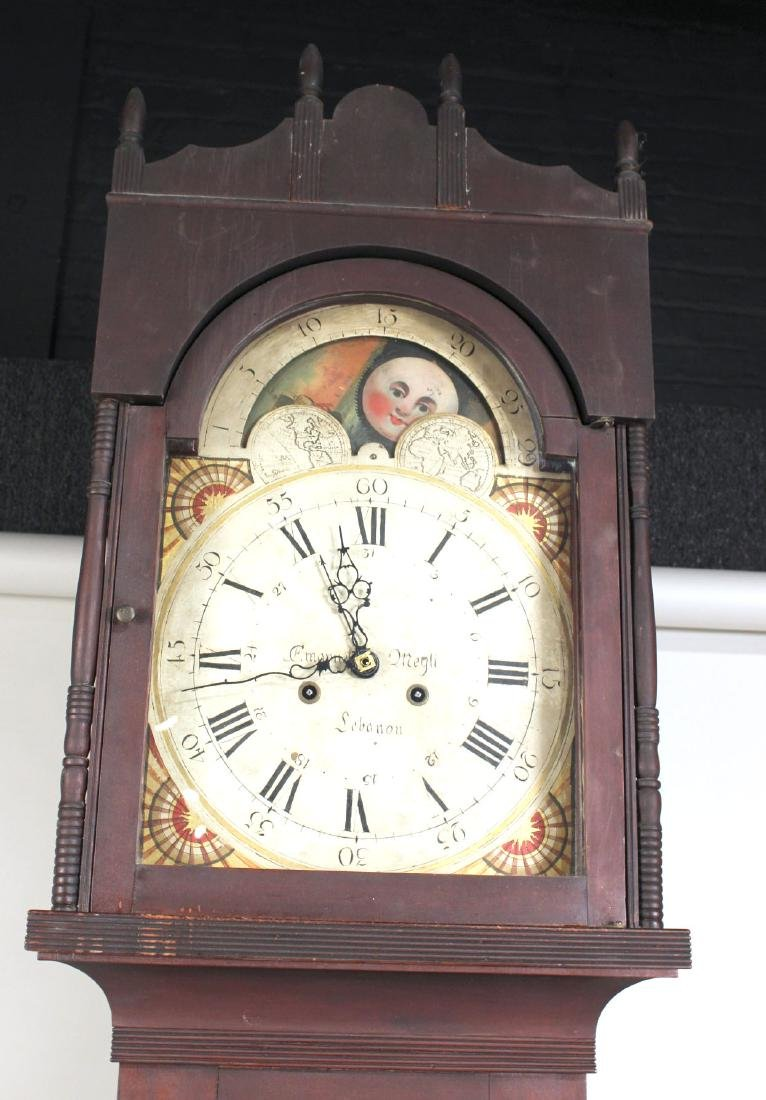 Empire Cherrywood Tall Case Clock - 2