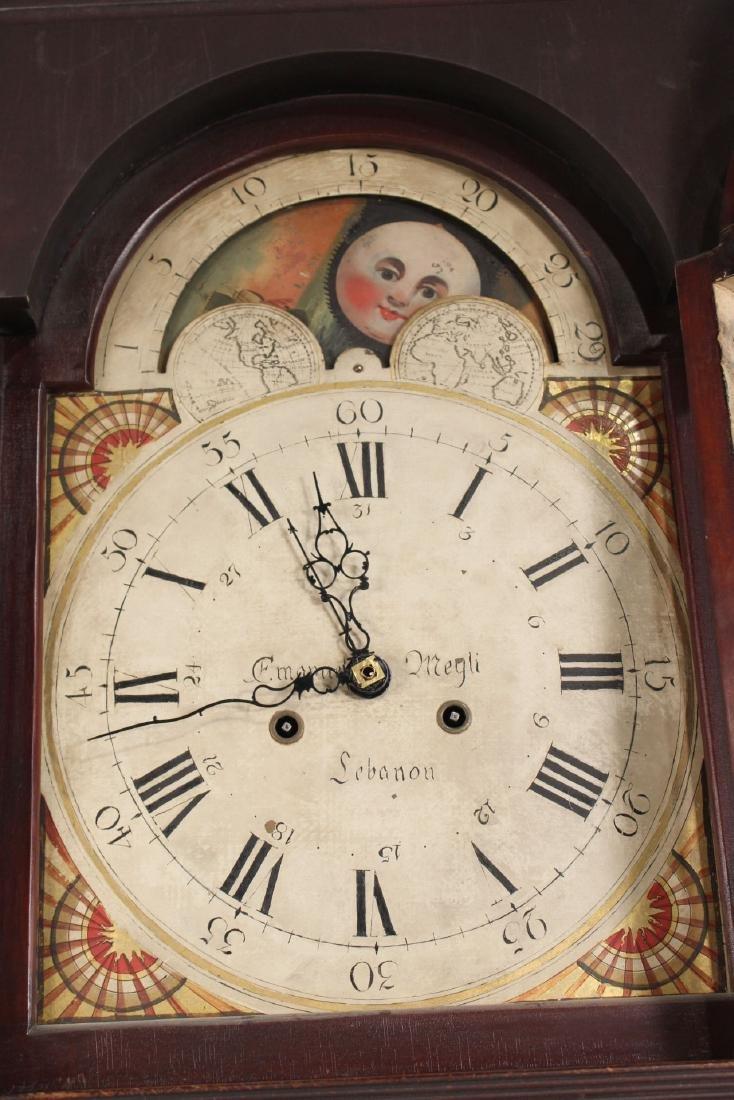 Empire Cherrywood Tall Case Clock - 3