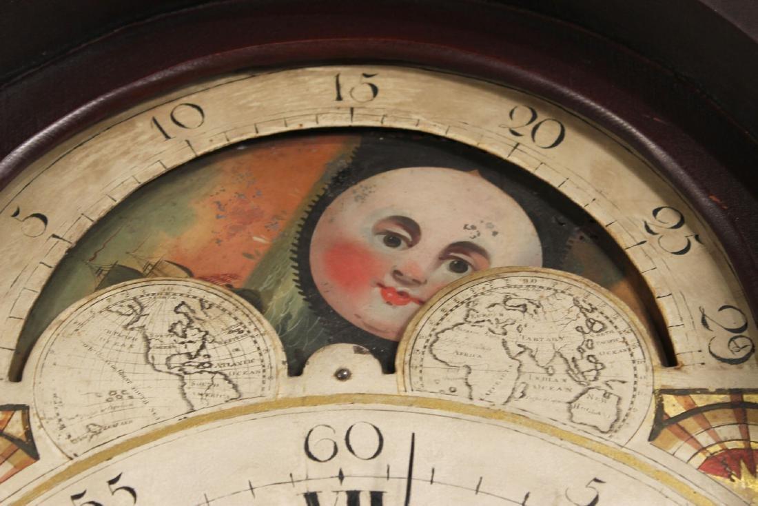 Empire Cherrywood Tall Case Clock - 5