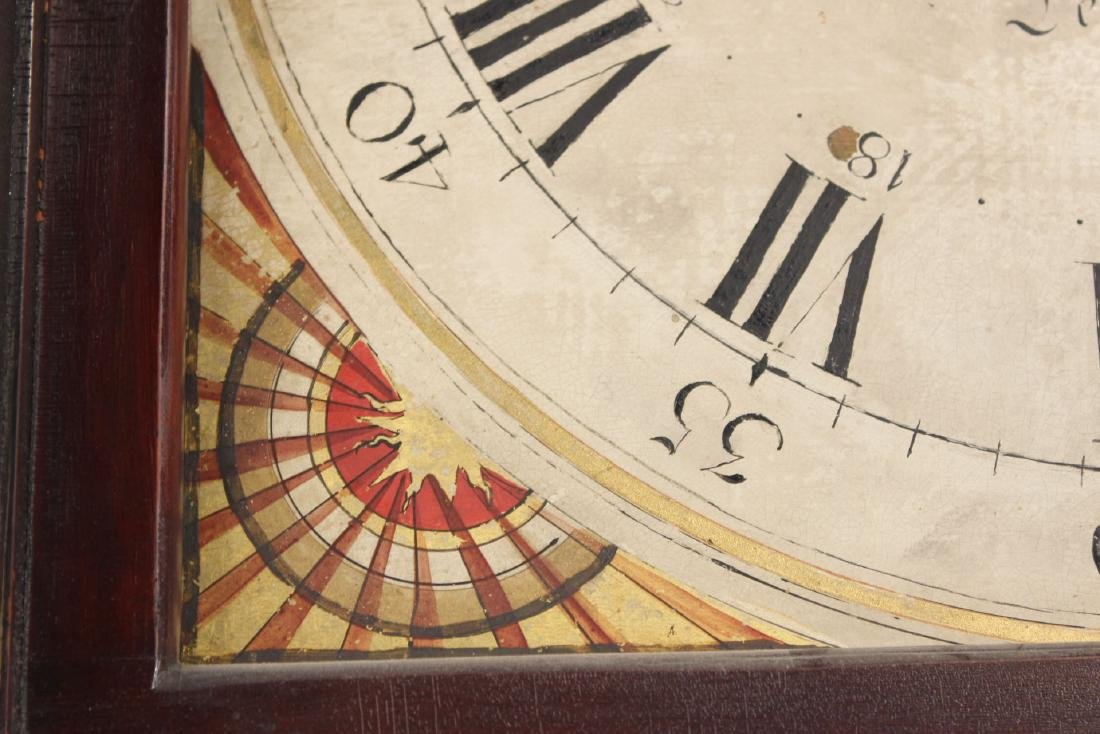 Empire Cherrywood Tall Case Clock - 6