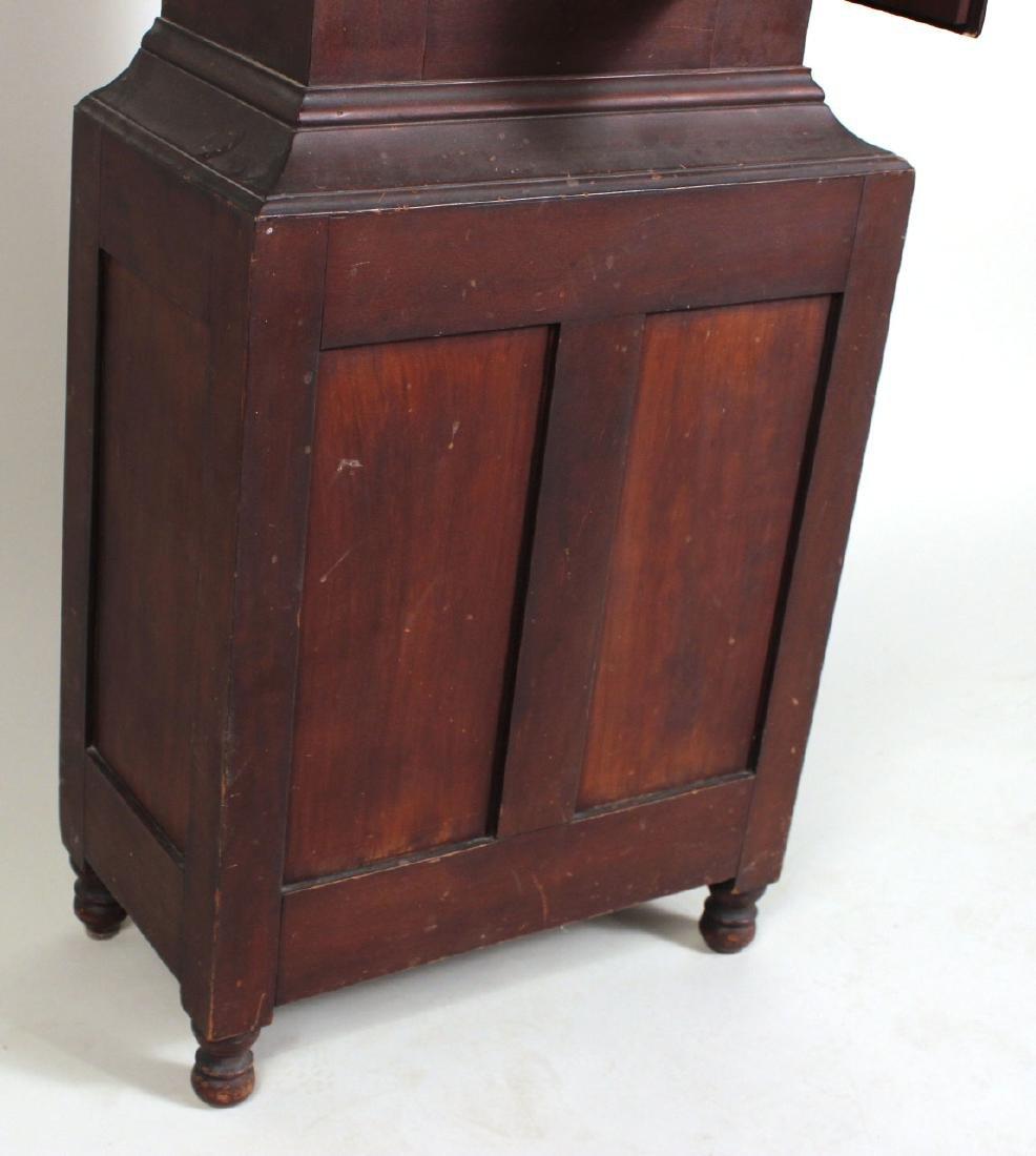 Empire Cherrywood Tall Case Clock - 8