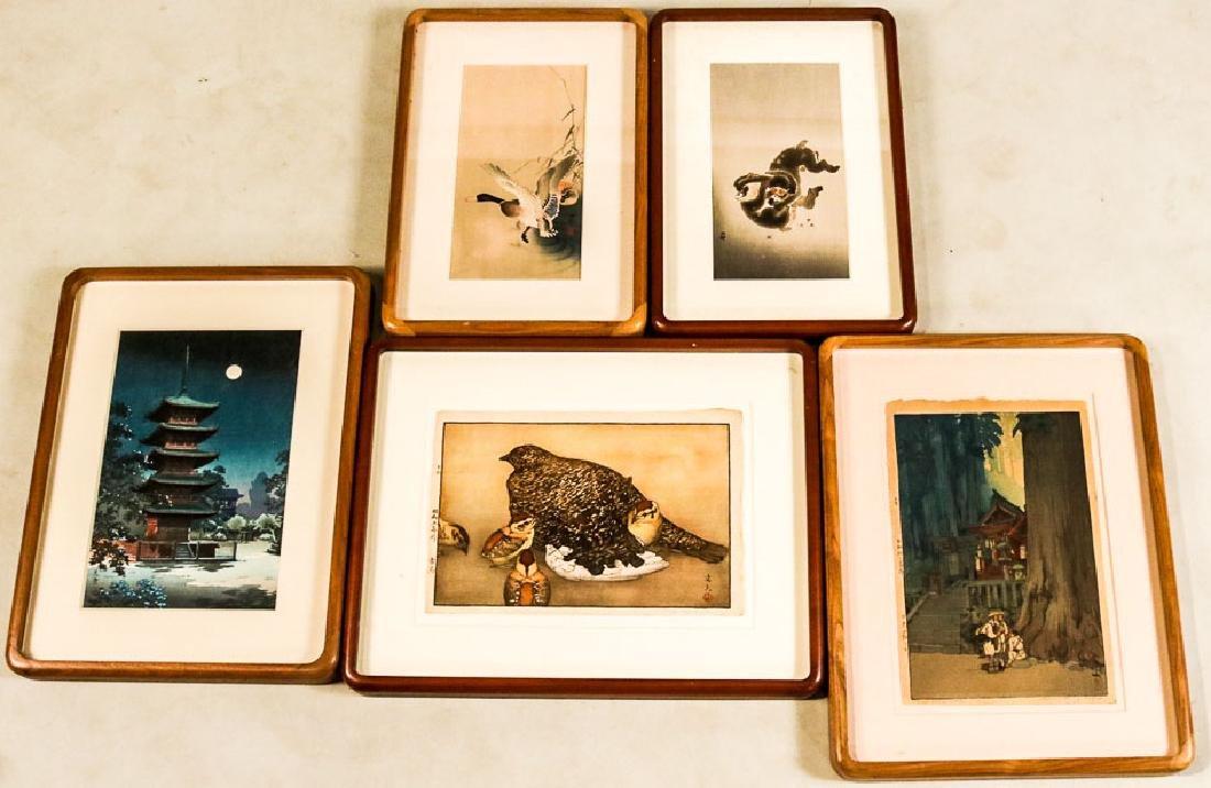 Five Woodblock Prints