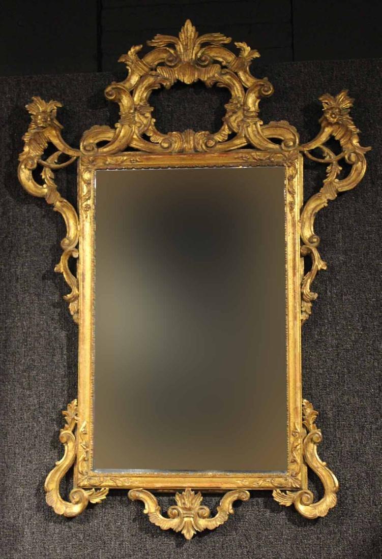 Rococo Style Giltwood Pier Mirror