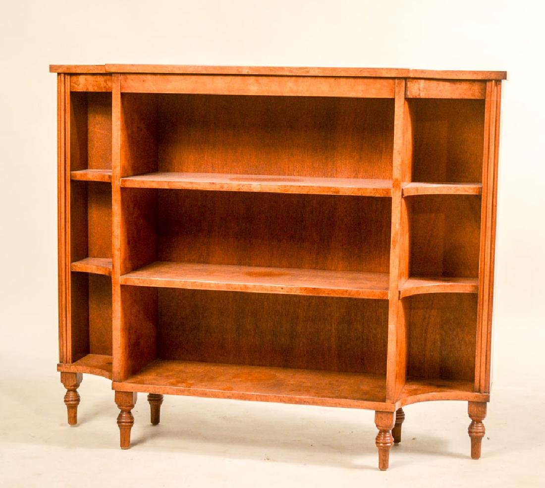 Regency Style Mahogany Bookcase