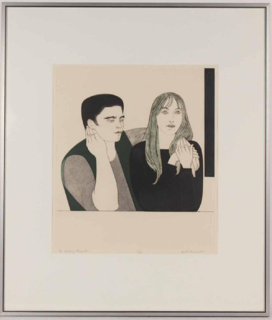 Pencil Signed Etching, Will Barnet