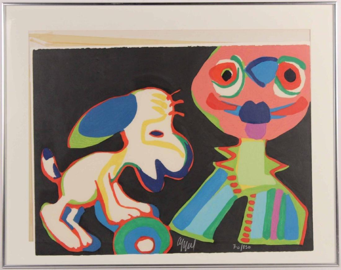 Abstract Print, Karel Appel