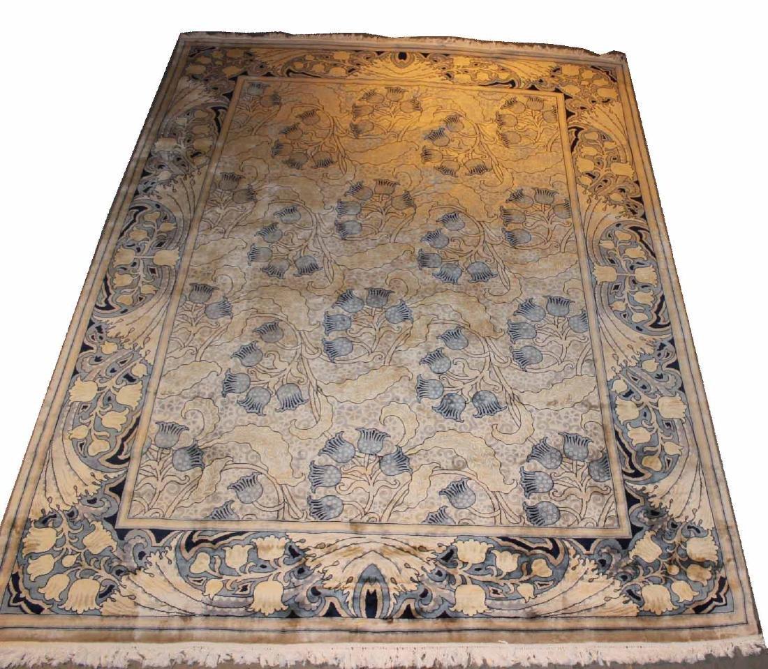 Floral Decorated Carpet