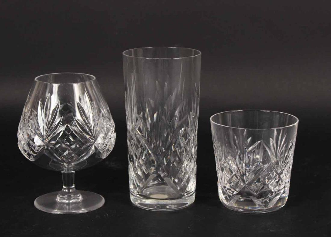 Set of St. Louis Crystal Stemware