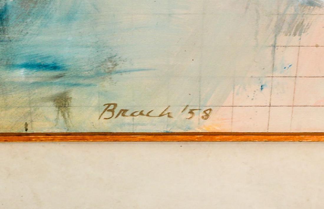 """Oil on Canvas, """"Chamber,"""" Paul Brach - 2"""