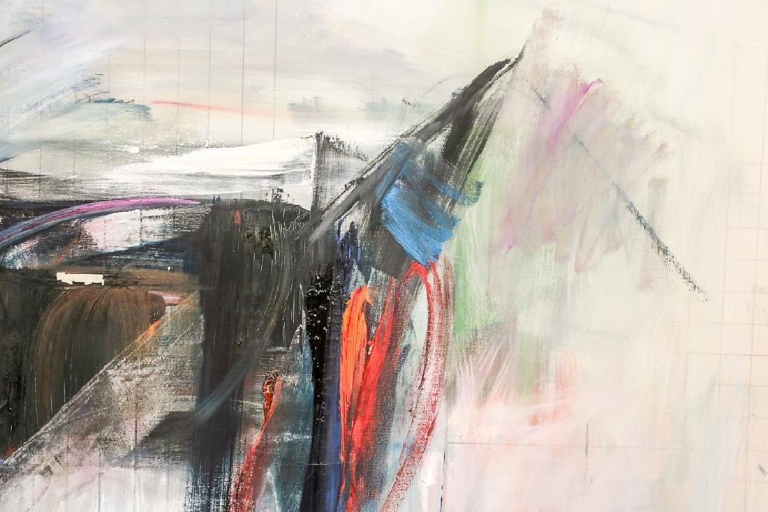 """Oil on Canvas, """"Chamber,"""" Paul Brach - 3"""