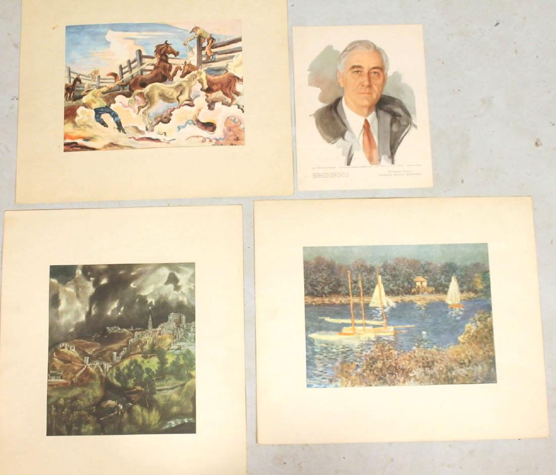 Portfolio of Assorted Prints