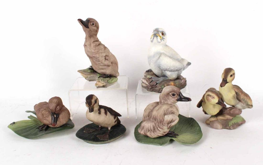 Five Boehm Porcelain Bird Figurines