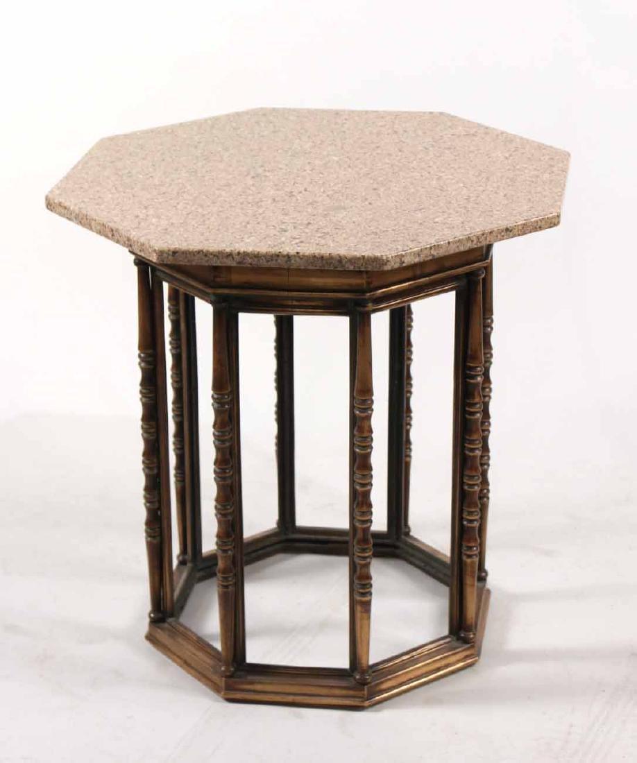 Bronze Octagonal Table