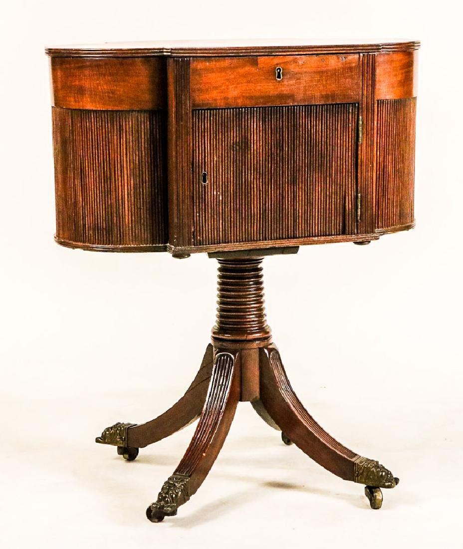 Federal Mahogany Sewing Table