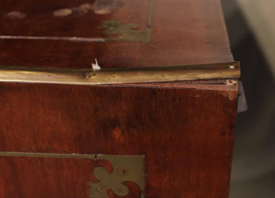 Pair of Regency Brass-Bound Campaign Chests - 4