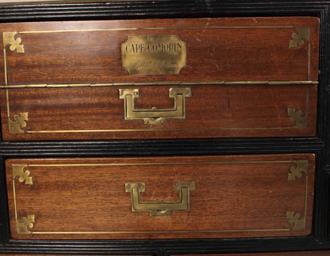 Pair of Regency Brass-Bound Campaign Chests - 5