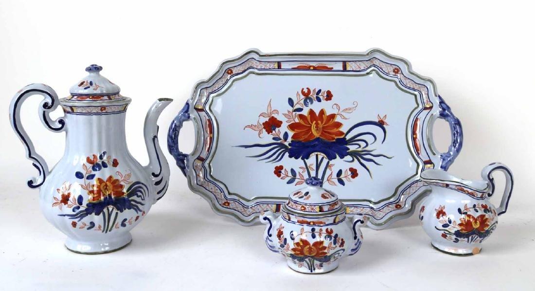 Italian Ceramic for Tiffany Tea Service