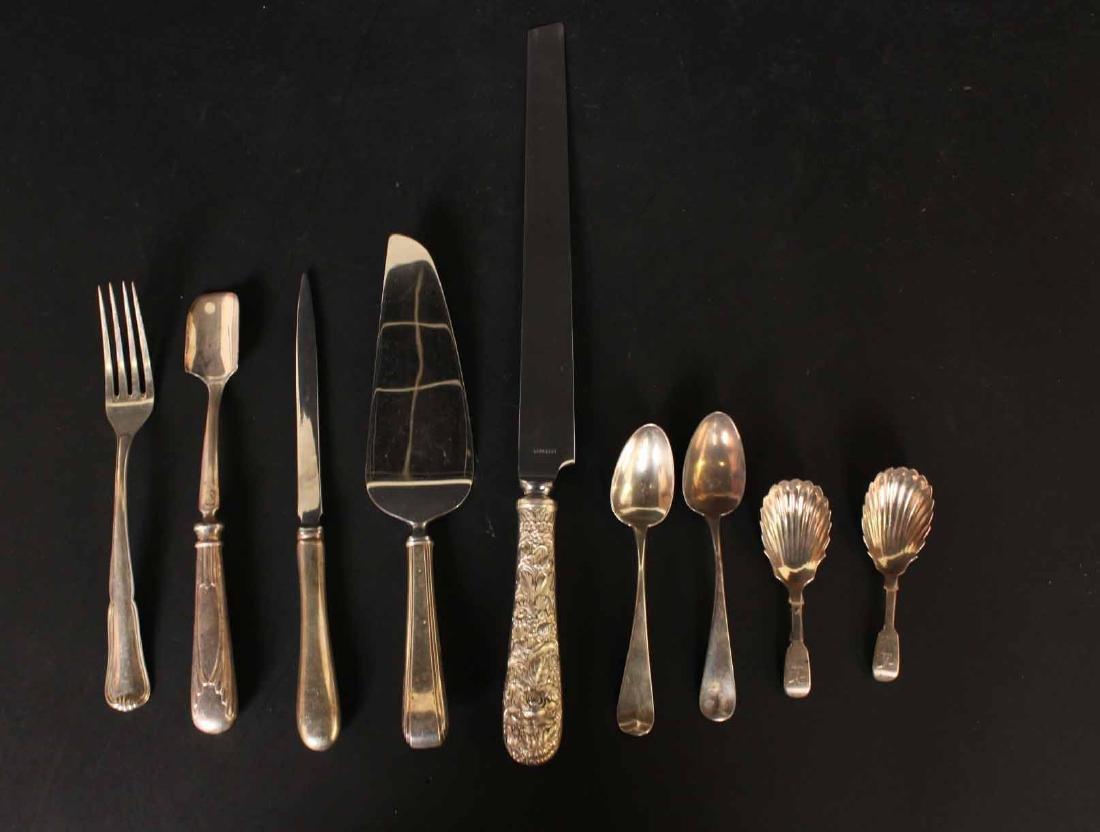 Kirk Sterling Silver Handled Bread Knife