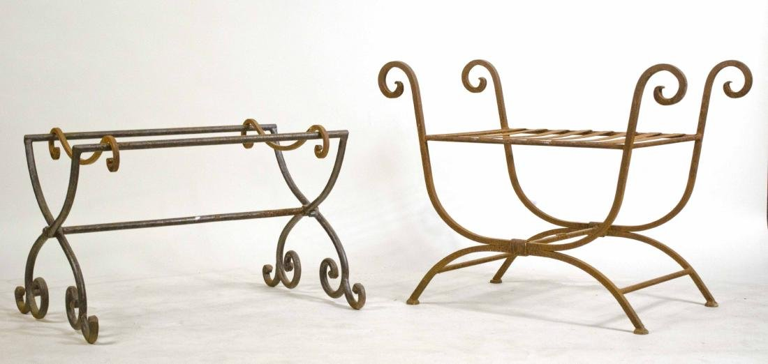 Wrought and Cast Iron Bench