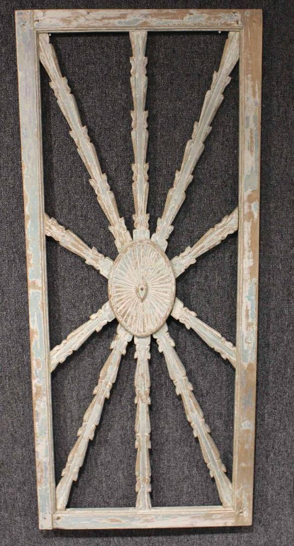 Carved Wood Architectural Ornament