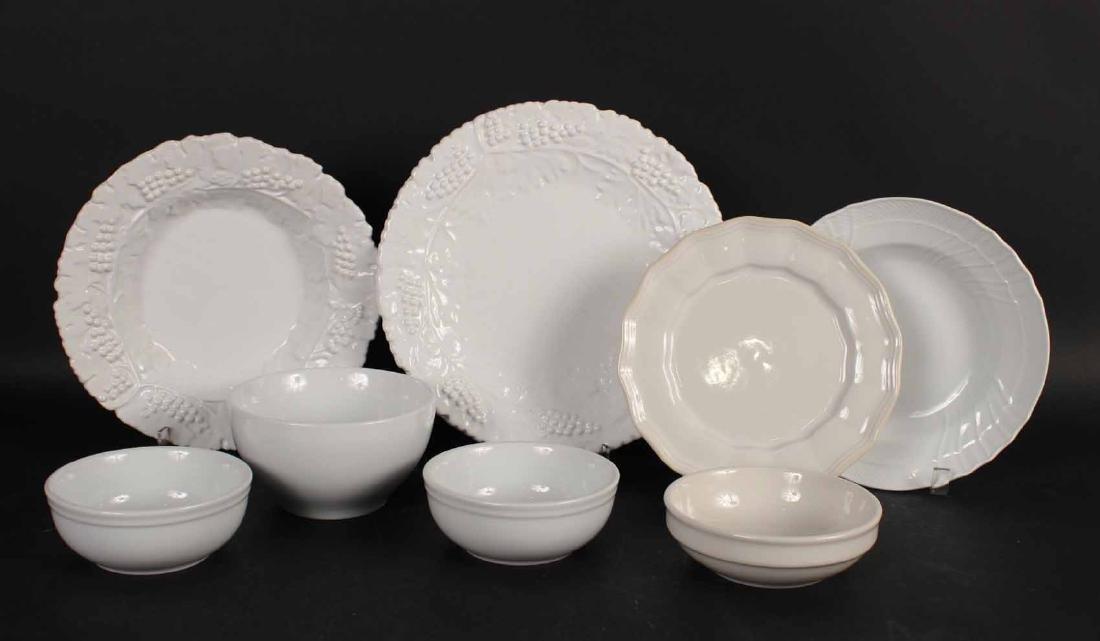 Richard Ginori Porcelain Rim Soup Bowls