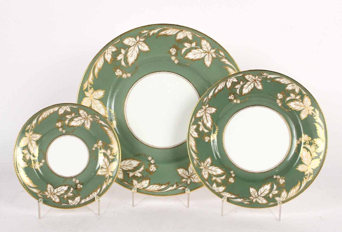 Partial Royal Worcester Dinner Service