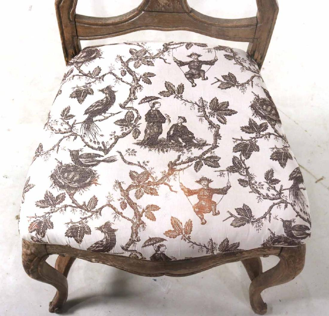 Rococo Walnut Shell-Carved Side Chair - 2