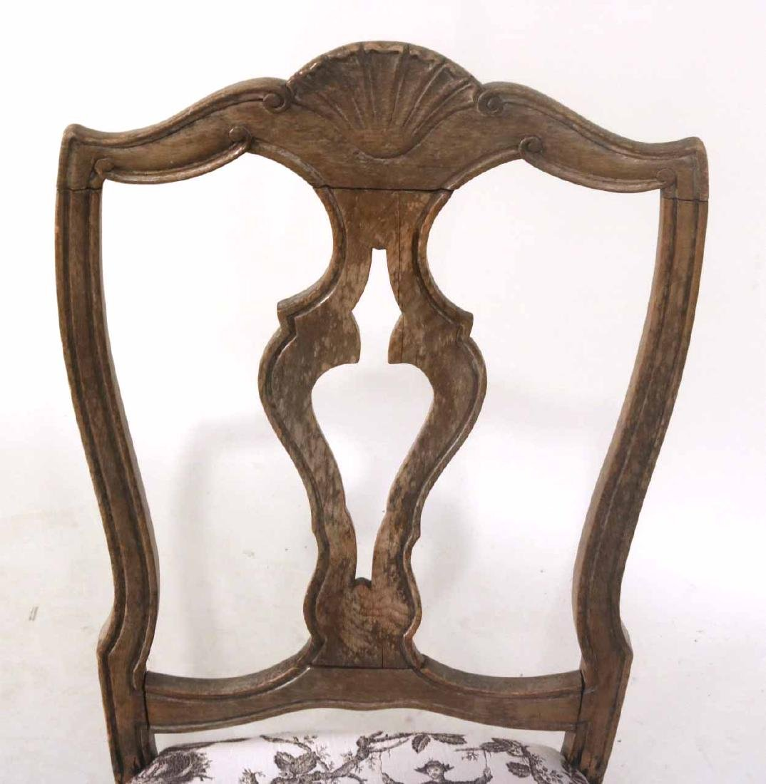 Rococo Walnut Shell-Carved Side Chair - 3