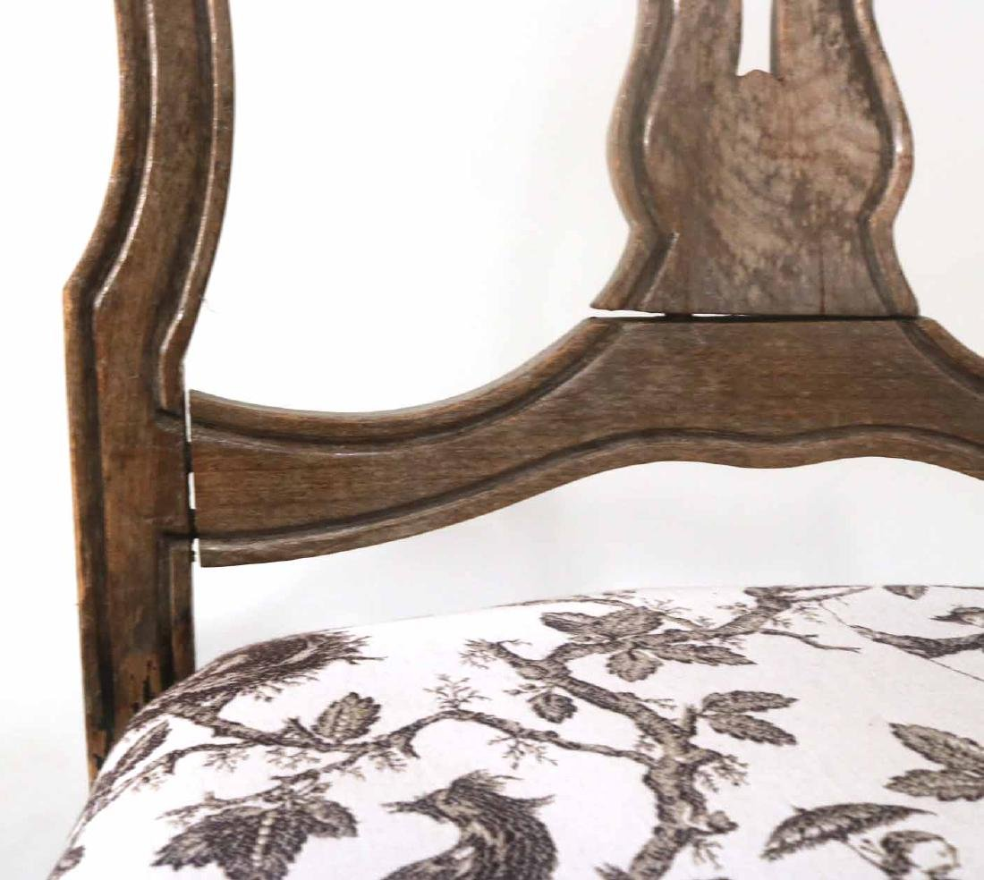 Rococo Walnut Shell-Carved Side Chair - 4