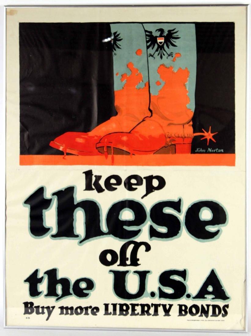 World War II Booster Poster, Jim Norton