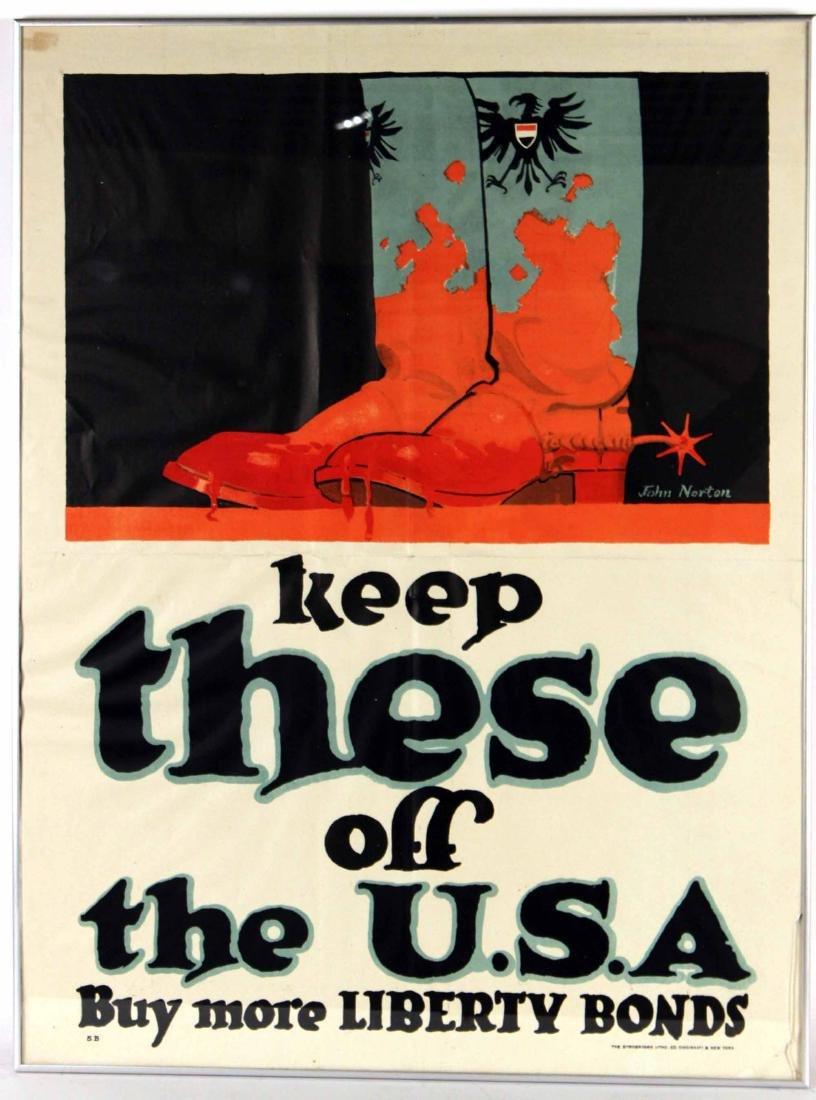 World War II Booster Poster, Jim Norton - 2