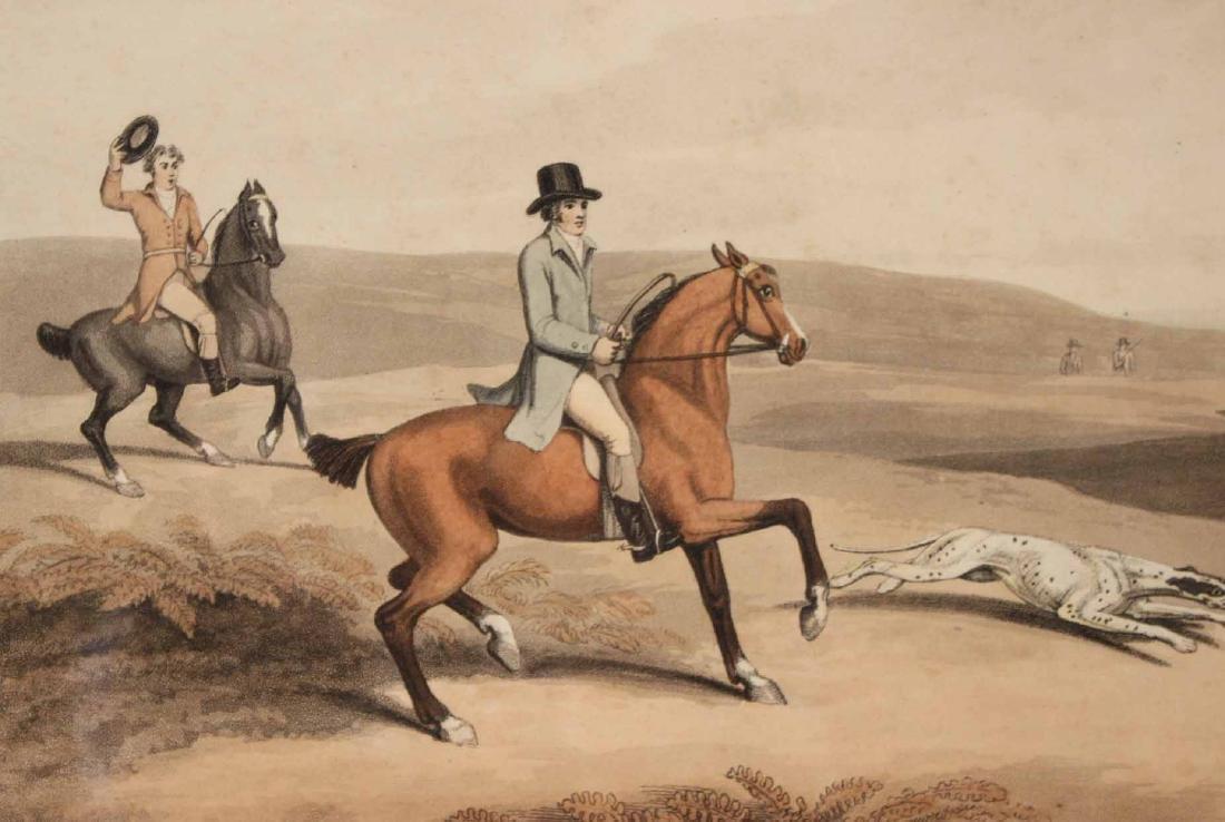Four Lithographs, Sporting Scenes, Samuel Howitt - 10