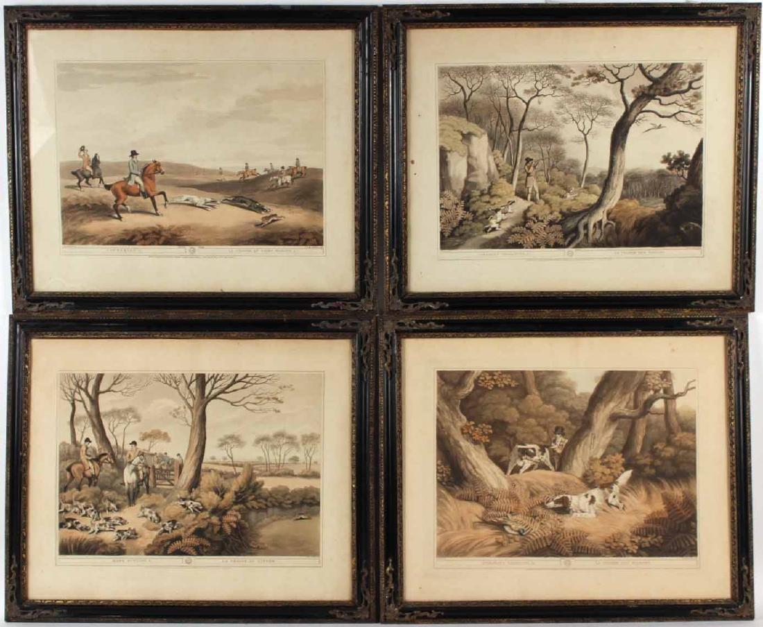 Four Lithographs, Sporting Scenes, Samuel Howitt