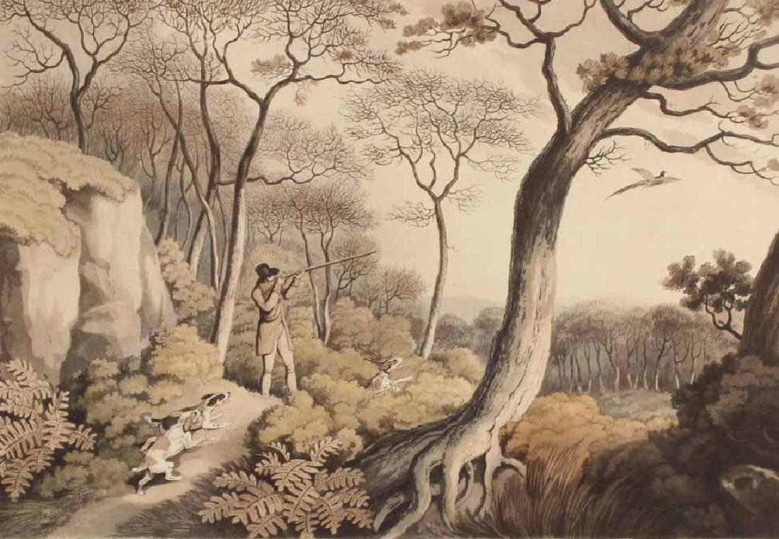 Four Lithographs, Sporting Scenes, Samuel Howitt - 2