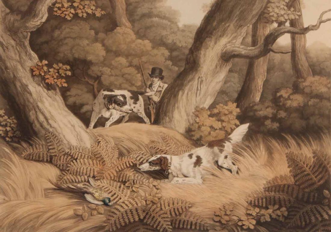 Four Lithographs, Sporting Scenes, Samuel Howitt - 6
