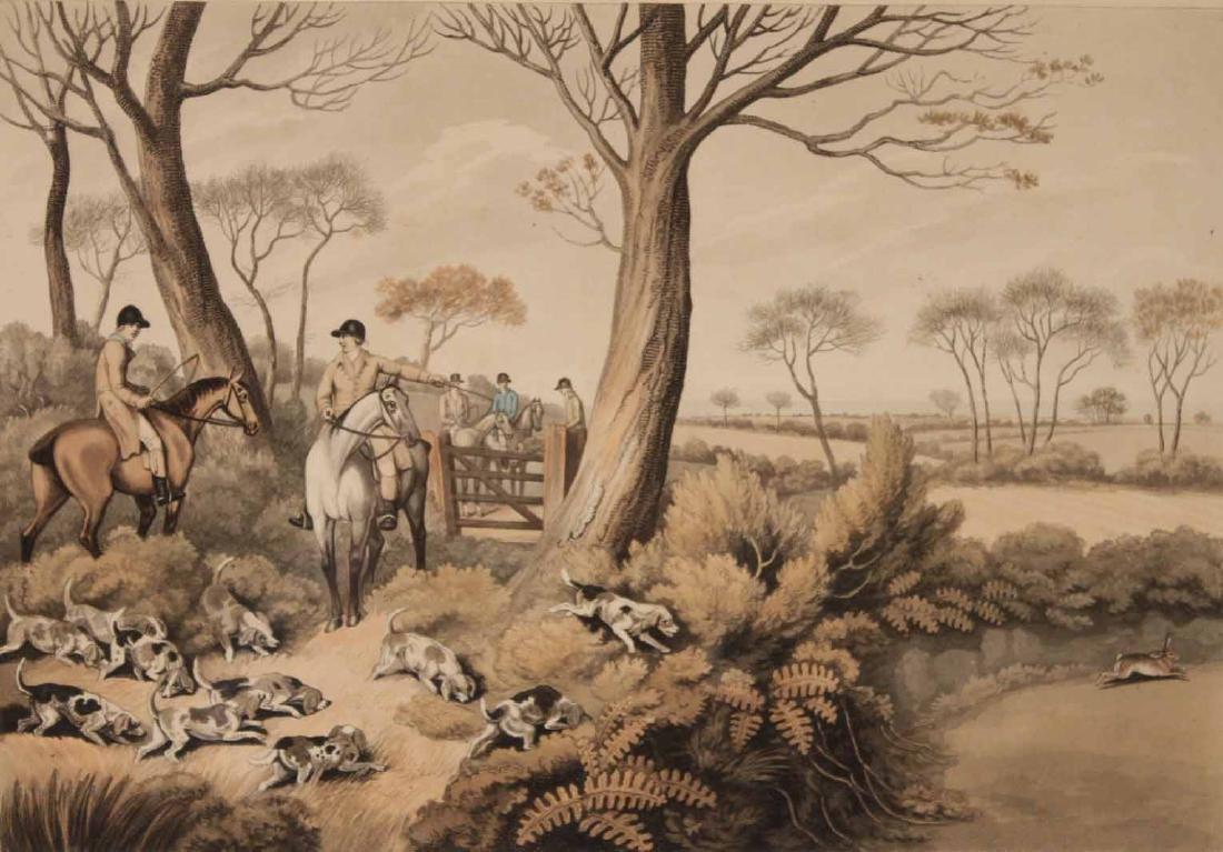 Four Lithographs, Sporting Scenes, Samuel Howitt - 7
