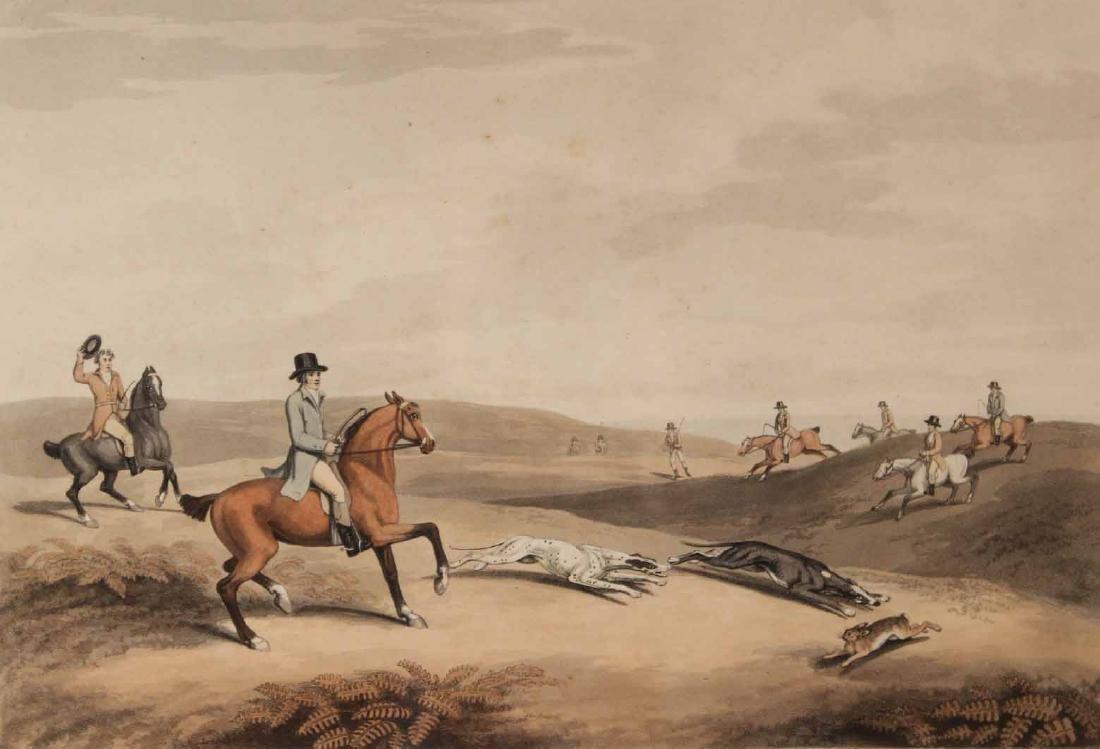 Four Lithographs, Sporting Scenes, Samuel Howitt - 8