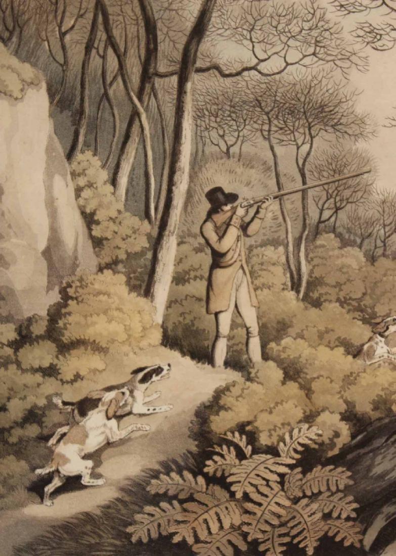 Four Lithographs, Sporting Scenes, Samuel Howitt - 9