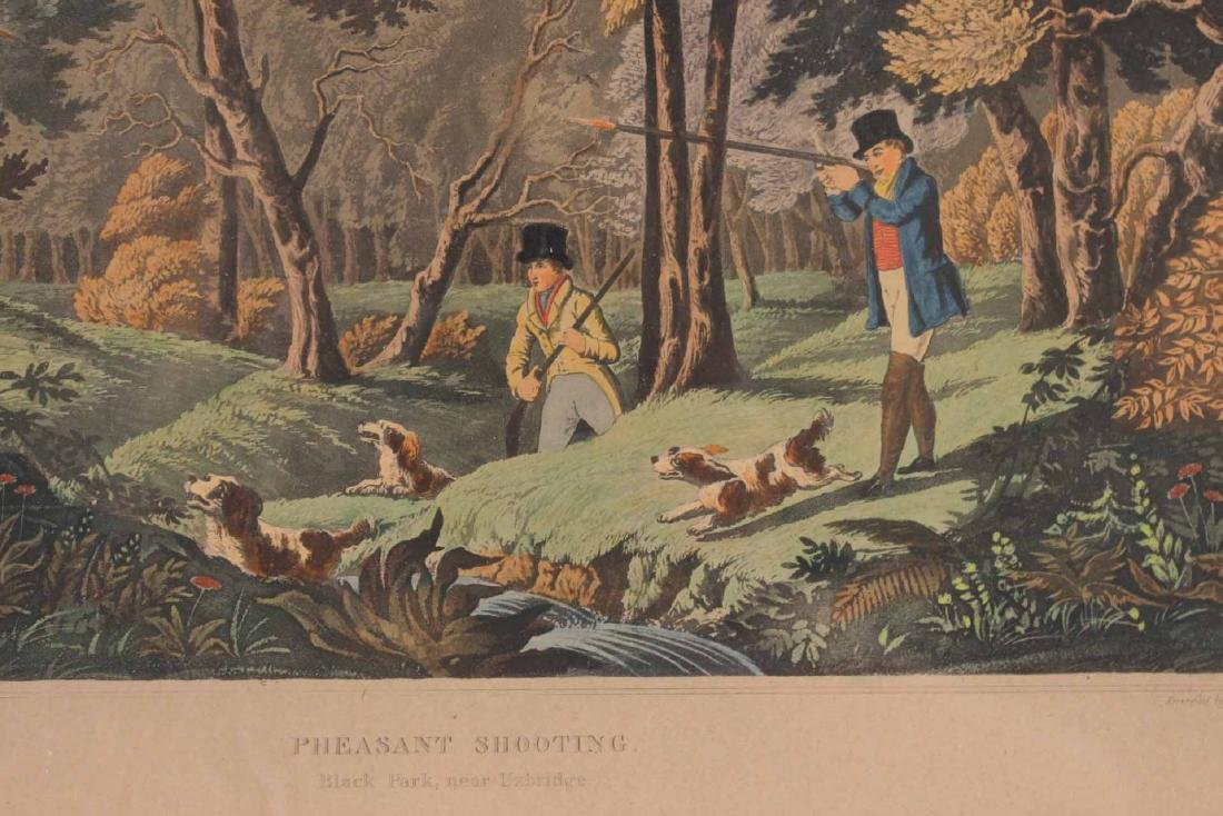 Four Colored Lithographs, Sporting Prints - 6