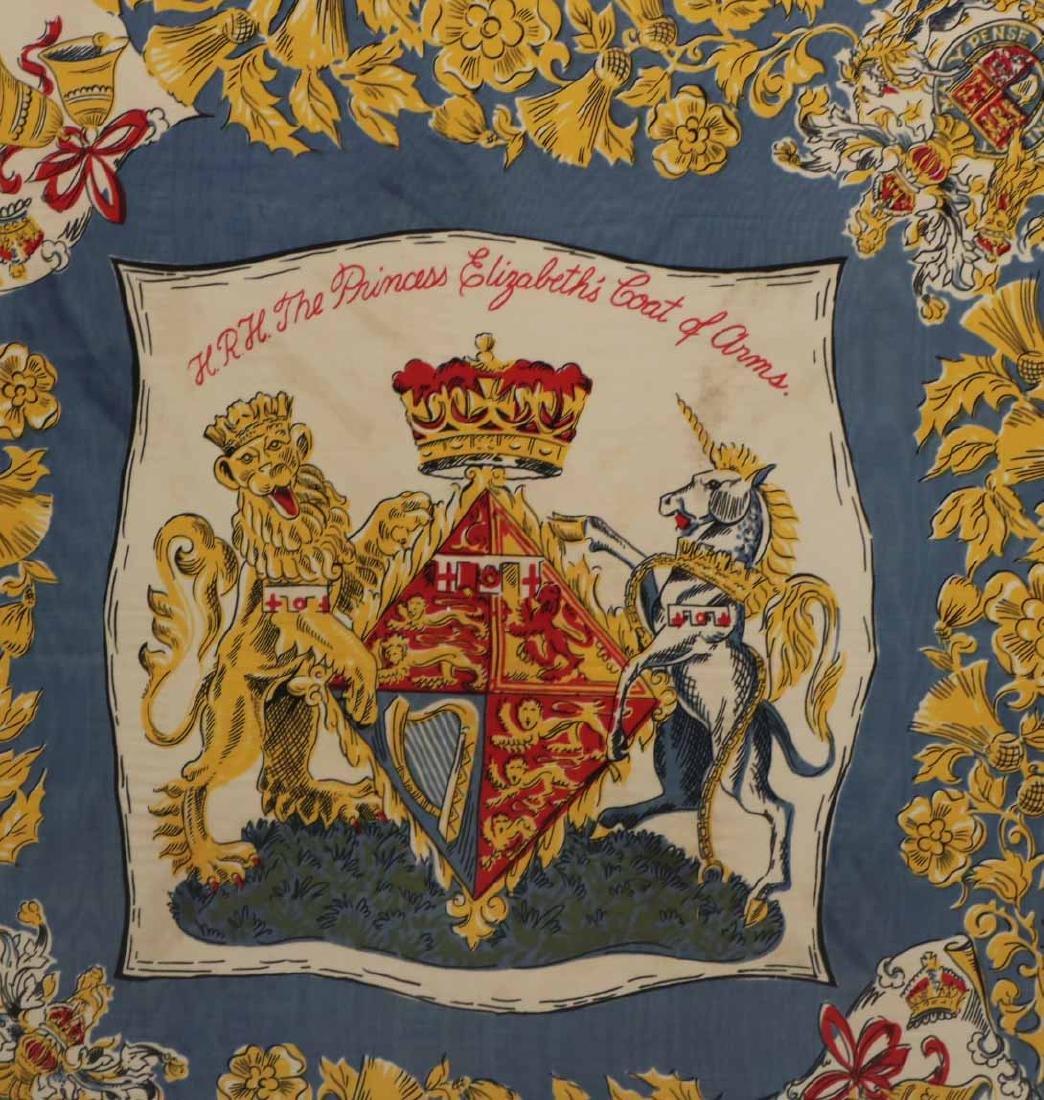 Framed Scarf, Princess Elizabeth's Coat of Arms - 3