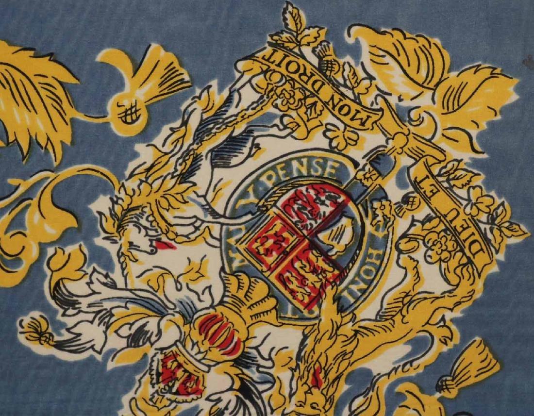 Framed Scarf, Princess Elizabeth's Coat of Arms - 4