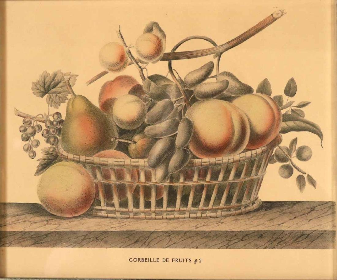 Three Prints of Fruit - 2