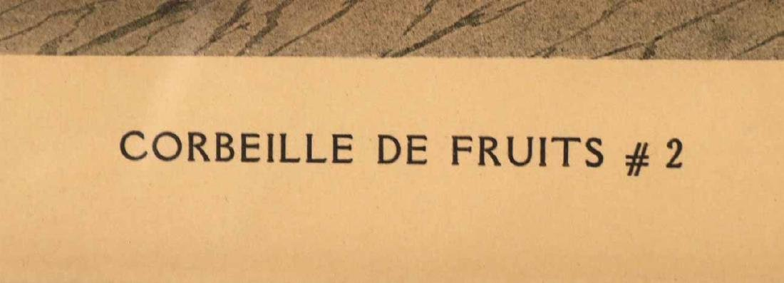Three Prints of Fruit - 3