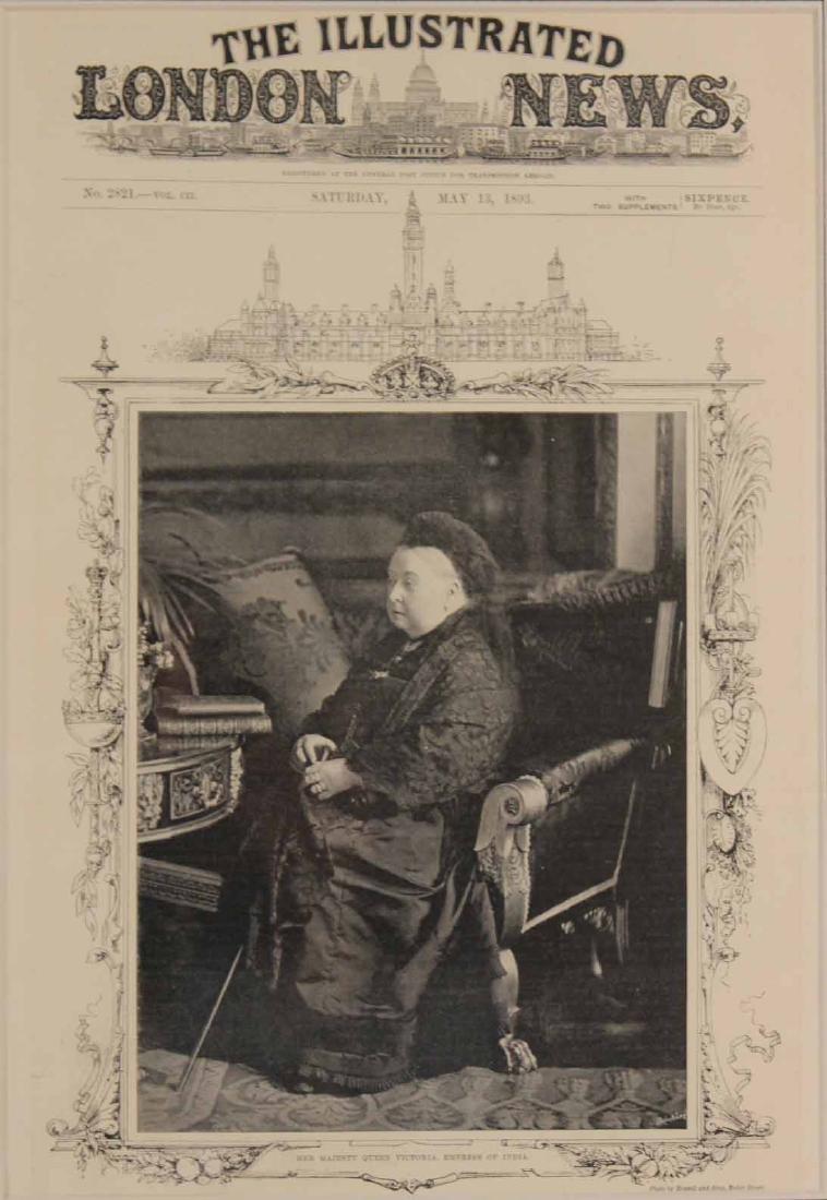 Black & White Photograph, Queen Victoria & Abdul - 3